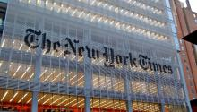 Under pressure of Chinese authorities, Apple has decided to remove The New York Times app from Apple Store in China. Photo: Commons/Wikimedia