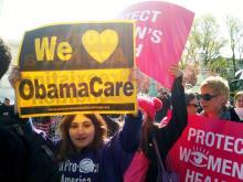 Manifestación por Obamacare. Foto cortesía de Creative Commons.