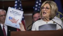 House Budget Committee Chair Diane Black Presents a Budget Plan for 2018. The Republican proposal will cut more than $ 200 billion of social programs and will lay the groundwork for a new tax reform. EFE