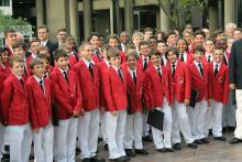 Philadelphia Boys Choir pone voz a 'Cuban Overture'