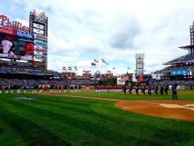 Opening Day for the 2017 Philadelphia Phillies at Citizens Bank Park. Photo: Peter Fitzpatrick/ AL DIA News