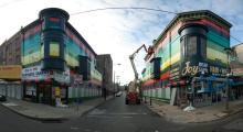 Philly Painting Germantown Avenue, 2012. Photo: Muhammad Ali Khalid/COMMONS WIKIMEDIA