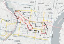Zoomable map of security zone for Pope's visit
