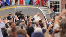 Francisco durante su visita a Filadelfia en septiembre de 2015. Foto: Archivo/AL DÍA News.
