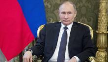 Putin calificó hoy de agresión con un pretexto inventado el ataque deEstados Unidoscontra la base aéreasiriade Shayrat, y advirtió de que la acción militar de Washington daña seriamente las relaciones ruso-estadounidenses. EFE/Pavel Golovkin