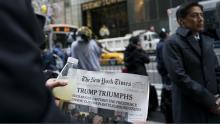 """The next morning"". Photo: Associated Press / Craig Ruttle"