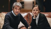 Ricardo Darín and Elena Anaya. Private file