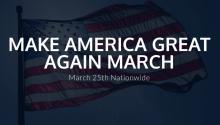 La ciudadserá escenariodela jornadaque ciudadanosorganizaronparamanifestar en todo el país su apoyo a las políticas del presidente Trump.