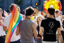 LGBT rally in Madrid. Photo courtesy: Wikimedia.