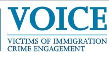 Oficina de Enlace para Víctimas de Delitos por Inmigración (VOICE, por su sigla en inglés).