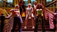 "Screenshot of ""Wannabe"" video"
