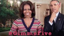 Michelle Obama lanza un saludable reto a la nación