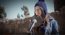 Young artist performs Michael Jackson song in Quechua