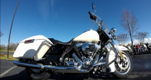 Police Road King cycles will escort Pope Francis around Philly