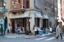 Nicole Marquis' latest culinary venture, Bar Bombón, sits at 18th& Moravian in the Rittenhouse neighborhood of Philadelphia.