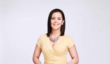 Iris Delgado, presentadora del Noticiero TElemundo62 a las 5PM.