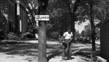 An African-American youth at a segregated drinking fountain inHalifax, North Carolina, in 1938. Photo:John Vachonfor U.S. Farm Security Administration-Library of Congress.