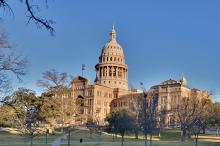 The Texas Capitol building in Austin, Texas was the site of the state's debate over Sanctuary cities on Monday.