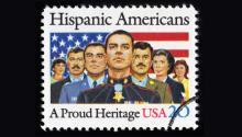 EstampillaConmemorativa de la Herencia Hispana del Servicio Postal de Estados Unidos.
