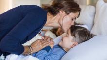 ¿Para qué esperar a que el hijo esté dormido para ir a besar y acariciar su rostro?