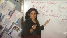 'Titi' MyrthaCastro, maestra y cofundadora de Amparo de la Niñez en North Philadelphia. Fotos: Archivo Familiar.