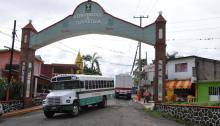 Fotografía del 17 de junio de 2017, de la entrada al municipio deTlaltetela, en el estado de Veracruz (México).EFE/Miguel Ángel Cardona