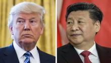 Fotos de archivo del presidente estadounidense DonaldTrump(izq), y de su homólogo chino, Xi Jinping.EFE/Jim Lo Scalzo/Filip Singer