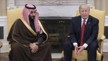 "Donald Trump begins his first international tour on Friday with the objectives of proposing an ""Arab NATO"" and connecting with his European allies. EFE/Michael Reynolds"