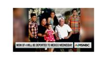 Maribel Trujillo and her family. Screenshot