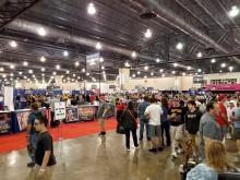 Many comic book and movie fans converge at the Pennsylvania Convention Center. Photo: Peter Fitzpatrick/AL DIA News