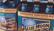 The Cinnamon Horchata Ale will be included in the Blue Moon fall and winter brewmaster sampler packs, which will be available nationwide.