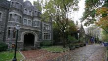The castle at University of Pennsylvania (UPenn). Photo by Pennalumni via Wikimedia commons