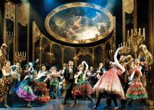 A Masquerade at The Phantom of The Opera. Photograph by Alastair Muir.