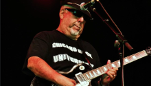 Rudy Salas was a musician who was a member of the group El Chicano. He was also the co-founder of the L.A. Latin R&B band, Tierra. Photo: Latin Rock, Inc.