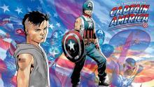 Aaron Fischer es un personaje en la nueva serielimitadade cómics de MarvelThe United States of Captain America.