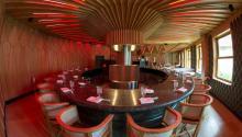 El restauranteA´Barra, ubicadoen Madrid, cuenta con una estrellaMichelin. Foto: www.restauranteabarra.com
