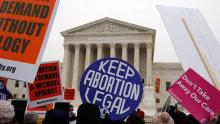 The Supreme Court dismisses an appeal against a law that prohibits medical abortion in Arkansas. Alex Brandon / AP