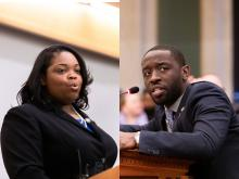Councilmembers Katherine Gilmore Richardson and Isaiah Thomas are leading Illuminate the Arts effort in Philadelphia City Council. Photos: Philadelphia City Council.
