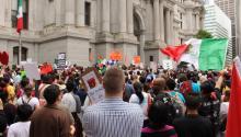 May Day in Philadelphia