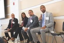 ALPFA hosted the 2019 ERG Summit at the Free Library of Philadelphia on Oct. 24. Photo: Alban Mora / ALPFA