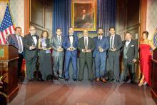 Ten outstanding Hispanic individuals were the inaugural recipients of the Ambassador Manuel Torres Award during the AL DIA Archetypes Gala September 24 Photos: Peter Fitzpatrick/AL DIA News