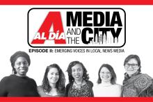 Cassie Owens, Joy Soto, Danielle Jeter, Mariela Morales Suárez, and Emily Neildiscuss the future oflocal news media, professional dynamics in the newsroom, and the importance ofrepresentation in journalism.
