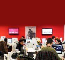 The AL DÍA Newsroom at 1835 Market Street. Photo: AL DÍA News Archives