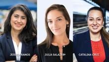 Three Latina candidates representa new progressive movement in New York.