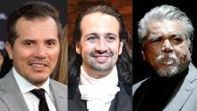 """John Leguízamo, Lin Manuel Miranda and George López are our """"early Historians"""" piecing together the suppressed chapter of the Great American History. They, of course, need help from the rest of us. Gettyimages"""
