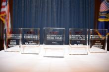 AL DÍA News honored the contributions of five local archetypes of Hispanic Heritage within their selective fields during the 2018 Hispanic Heritage Awards Luncheon, which was held at the Union League of Philadelphia on Oct. 10. Photo: Peter Fitzpatrick