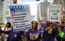 As questionable labor conditions turn into workers' rights violations, LAZ Parking tries to prevent the Union from getting involved.Photo: 32BJ