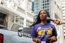 Employee files a claim against LAZ Parking Philadelphia for unfair unemployment. Photo:32 Bj