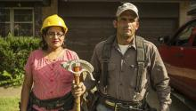 Building de American Dream explora la situación de las familias migrantes que se dedican a la construcción en Texas y el abuso al que hacen frente.