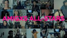 Amigxs All-Stars is a collaboration that brings together 25 artists who have made a version of a salsa classic. Photo: Sounds and Colours